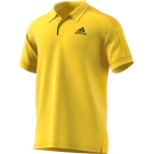 Adidas Men's Barricade Tennis Polo (Equestrian Yellow/Black) - Men's Polo Shirts