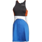 Adidas Women's by Stella McCartney Barricade Tennis Dress (Black/Bold Blue) - Adidas