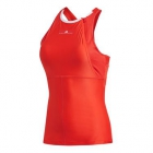 Adidas Women's by Stella McCartney Barricade Tennis Tank (Dark Callistos) - Women's Tank Tops
