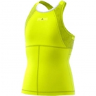 Adidas by Stella McCartney Girls' Barricade Tennis Tank (Aero Lime) - Adidas Junior Tennis
