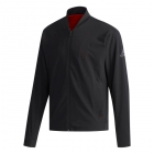 Adidas Men's Barricade Tennis Jacket (Argyle Black/Scarlet) - Men's Jackets