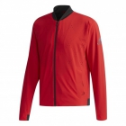 Adidas Men's Barricade Tennis Jacket (Argyle Scarlet/Black) - Men's Jackets