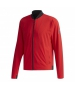 Adidas Men's Barricade Tennis Jacket (Argyle Scarlet/Black) - Men's Tennis Apparel