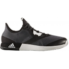 Adidas Men's Adizero Defiant Bounce Tennis Shoes (Black/White/Grey) - Men's Tennis Shoes