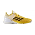 Adidas Men's Adizero Ubersonic 2 Tennis Shoe (Equipment Yellow/Core Black/White) - Tennis Shoe Brands