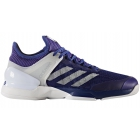 Adidas Men's Adizero Ubersonic 2 Tennis Shoe (Mystery Ink/White/Energy Ink) - Men's Tennis Shoes