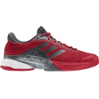 Adidas Men's Barricade 2017 Boost Tennis Shoes (Scarlet /Night Metallic/Dark Burgundy) - Men's Tennis Shoes