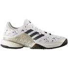 Adidas Men's Barricade Boost Tennis Shoes (Running White/Night /Silver Metallic) - Types of Tennis Shoes