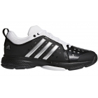 Adidas Men's Barricade Classic Bounce Tennis Shoes (Core Black/Metallic Silver/White) - Adidas Tennis Shoes