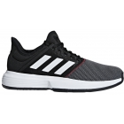 Adidas Men's GameCourt Tennis Shoes (Black/White/Shock Red) - Adidas GameCourt Tennis Shoes