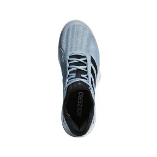 Adidas Men's Adizero Club Tennis Shoes (Black/Ash Grey)