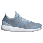 Adidas Men's Adizero Defiant Bounce Tennis Shoes (Ash Grey/Light Granite) - Adidas Bounce Tennis Shoes