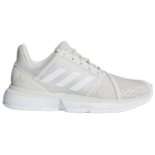 Adidas Women's CourtJam Bounce Tennis Shoes (Raw White/Matte Silver) - Enjoy Free FedEx 2-Day Shipping on Select Women's Shoes