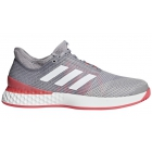 Adidas Men's Adizero Ubersonic 3.0 Tennis Shoes (Light Granite/White/Shock Red) -