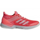 Adidas Women's Adizero Ubersonic 3 Tennis Shoes (Shock Red/White/Light Granite) - Enjoy Free FedEx 2-Day Shipping on Select Women's Shoes
