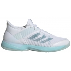 Adidas Women's Adizero Ubersonic 3m x Parley Tennis Shoes (Blue Spirit/White) - Adidas x Parley Ocean Plastic Tennis Apparel & Shoes