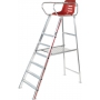 Putterman Deluxe Umpire Chair (Cost Effective Red)