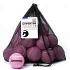 Gamma Bag-O-Balls, 18 Pressureless Tennis Balls (Pink) -