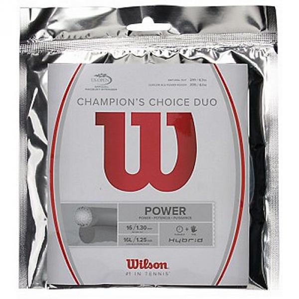 Wilson Champion's Choice 16g Tennis String (Set)