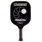 Pickle-Ball Champion Paddle (Black) - Tennis Court Equipment