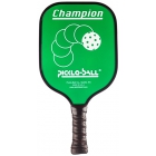 Pickle-Ball Champion Paddle (Green) - Tennis Court Equipment