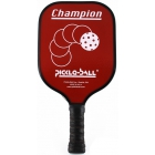 Pickle-Ball Champion Paddle (Red) - Tennis Court Equipment