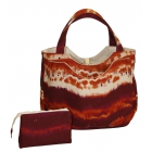 40 Love Courture Sunset Wave Charlotte Tote - 40 Love Courture