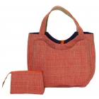 40 Love Courture Orange Weave Charlotte Tote - 40 Love Courture