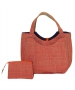 40 Love Courture Orange Weave Charlotte Tote - Tennis Tote Bags