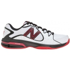 New Balance Men's MC786 (D) (White/ Red) - New Balance Tennis Shoes
