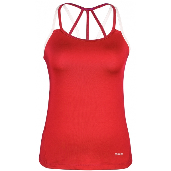 DUC Chic Women's Tennis Tank (Red)