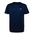Head Men's Spacedye Hypertek Tennis Crew (Navy Heather) - HEAD Men's Tennis Apparel