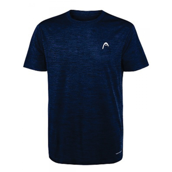 Head Men's Spacedye Hypertek Tennis Crew (Navy Heather)