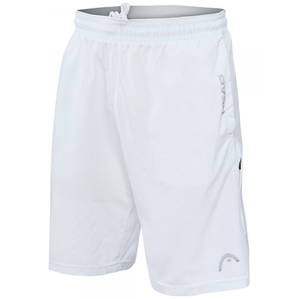Head Men's Breakpoint Tennis Shorts (Stark White)