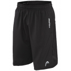 Head Men's Breakpoint Tennis Shorts (Black) - HEAD Men's Tennis Apparel