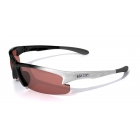Maxx Cinco HD Sport Sunglasses (White) - Maxx Tennis Accessories