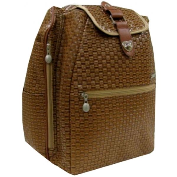 Jet Cinnamon Weave Cooljet Tennis Bag