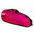 Prince Club 3 Pack Tennis Bag (Black/ Pink) - Prince Tennis Bags and Backpacks