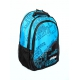 Prince 2016 Club Backpack Tennis Bag (Black/ Blue) - Prince