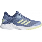 Adidas Women's Adizero Club Tennis Shoes (Chalk Blue/Semi Frozen Yellow/Noble Indigo) - Women's Tennis Shoes