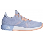 Adidas Women's Adizero Defiant Bounce Tennis Shoes (Chalk Blue/White/Chalk Coral) - Women's Tennis Shoes