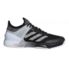 Adidas Men's Adizero Ubersonic 2 Clay Court Tennis Shoe (Core Black/White) - Adidas