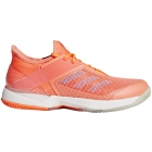 Adidas Women's Adizero Ubersonic 3.0 Tennis Shoes (Chalk Coral) - Adidas