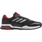 Adidas Men's Barricade Club Tennis Shoe (Black/Matte Silver/White) - Adidas Barricade Classic Tennis Shoes