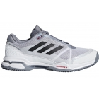 Adidas Men's Barricade Club Tennis Shoe (White/Black/Grey) - Adidas Barricade Classic Tennis Shoes