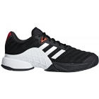 Adidas Men's Barricade Tennis Shoe (Black/White/Scarlett) - Adidas
