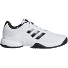 Adidas Men's Barricade Tennis Shoe (White/Black/Matte Silver) - Adidas