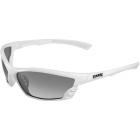Maxx Smoke Polarized Cobra Sunglasses (White) - Sunglasses