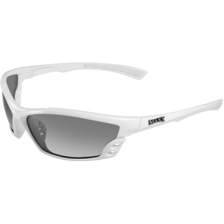 Maxx Smoke Polarized Cobra Sunglasses (White)