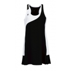 DUC Control Women's Tennis Dress (Black) - Tennis Apparel Brands